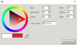Farbe festlegen
